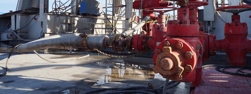Fracking Anlage