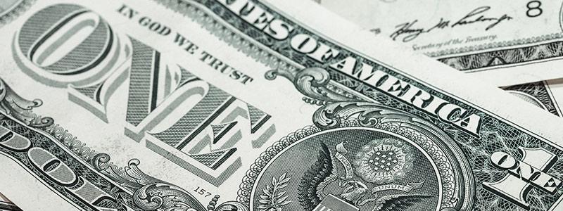 US Dollar Scheine