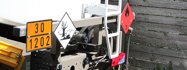 Tankwagen Rückseite